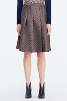 Diane von Furstenberg Ava Pleated Skirt