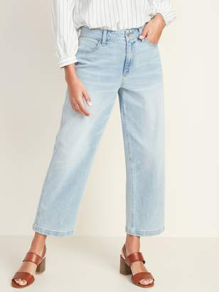 Old Navy High-Waisted Slim Wide-Leg Jeans For Women