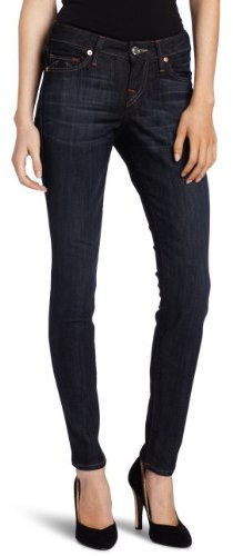 True Religion Women's Halle Skinny Leg Jean in Luckdraw