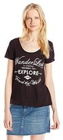 O'Neill Women's Juniors Seal the Deal Sunrise Graphic Tee