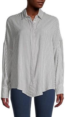 IRO Striped Long-Sleeve Shirt