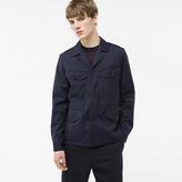 Paul Smith Men's Navy Loro Piana Storm System® Wool Field Jacket