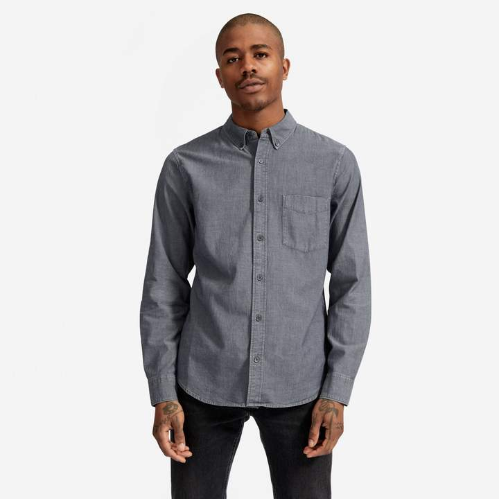 Everlane The Chambray Slim Fit Shirt