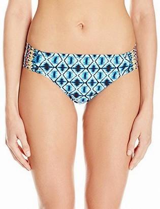 Kenneth Cole New York Women's Tribe Vibes Saide Tab Hipster Bikini Bottom