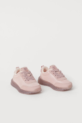 H&M Glittery Sneakers - Pink