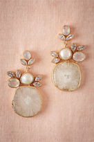 BHLDN Druzy Drop Earrings