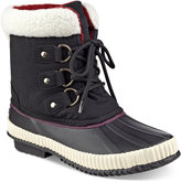 Tommy Hilfiger Ebonie Lace-Up Duck Booties