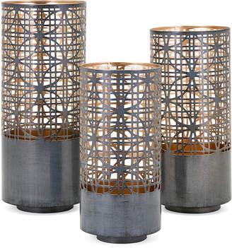 Modi Pierced Lantern Candleholders, Set of 3