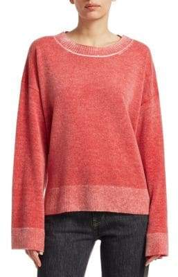 Elizabeth and James Women's Oliver Cashmere Sweater - Bright Red - Size Small