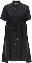 Sacai COTTON BLEND SHIRT DRESS