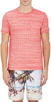 Orlebar Brown Men's Fine-Striped Sammy T-Shirt-PEACH