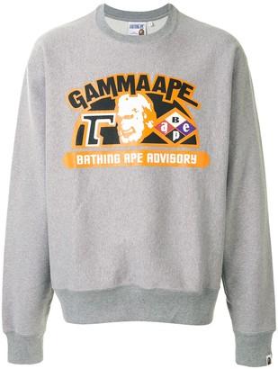 A Bathing Ape Gamma Ape sweatshirt