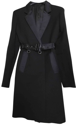 CNC Costume National Black Coat for Women