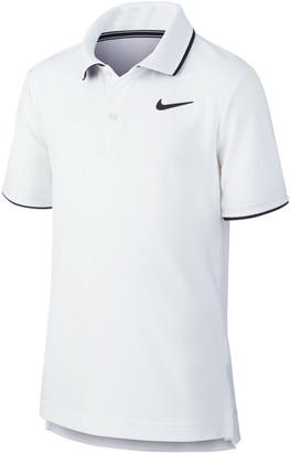 NikeCourt Boys Dri-FIT Team Polo