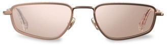 Jimmy Choo Gal 53MM Small Rectangular Sunglasses