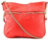 T-Shirt & Jeans Double Zipper with Chain Cross Body Bag