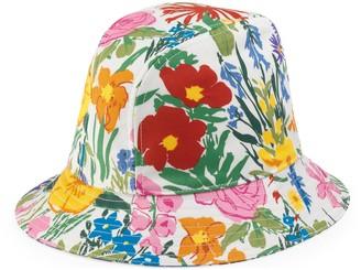 Gucci Ken Scott print cotton bucket hat