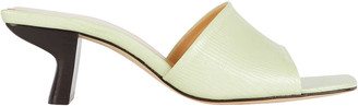 BY FAR Lily Leather Slide Sandals