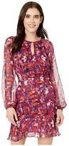 Parker Marengo Dress (Guava Blooms) Women's Dress