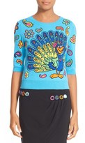 Moschino Women's Cartoon Animal Sweater