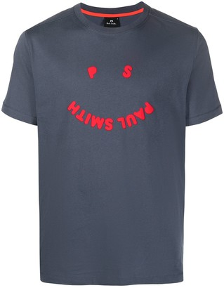 Paul Smith happy face logo T-shirt