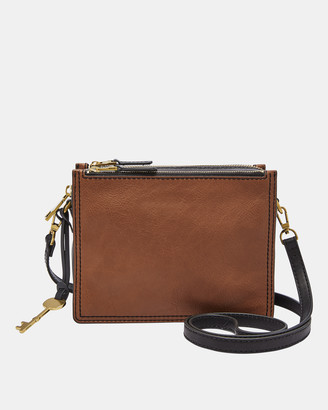Fossil Campbell Brown Crossbody