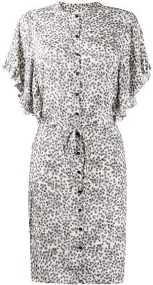 Zadig & Voltaire Hortensia collarless shirt dress
