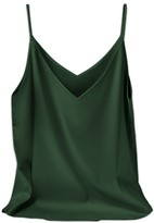 Goodnight Macaroon 'Mary' Essential V-neck Silk Camisole (8 Colors)