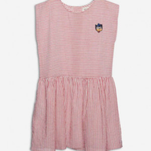 Wander&Wonder - Lilou Red Stripe Dress - 7-8 years / anos