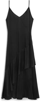 Mulberry Pandora Dress Black Satin Back Crepe