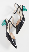 Marc Jacobs The Diamond Heel Slingback