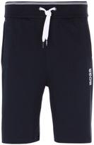 Boss Navy Cotton Jersey Shorts