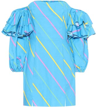 Rotate by Birger Christensen Bethany cotton minidress