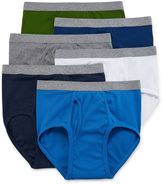 STAFFORD Stafford 6-pk. Blended Cotton Full-Cut Briefs-Big & Tall