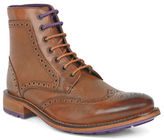 Ted Baker Sealls 3 Leather Wingtip Brogue Boots