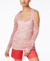 INC International Concepts Sheer Off-The-Shoulder Sweater, Only at Macy's