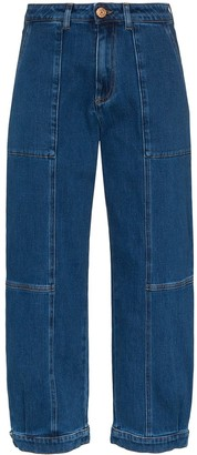 See by Chloe High-Rise Cropped Jeans