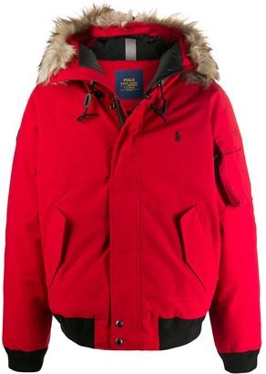 Polo Ralph Lauren Fur Hooded Jacket