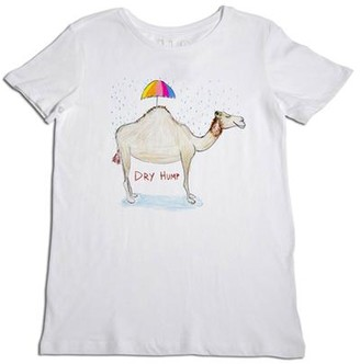 Unfortunate Portrait The Dry Hump Tee In White - XS