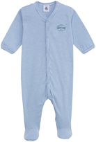 Petit Bateau Milleraies Blue Sleepsuit