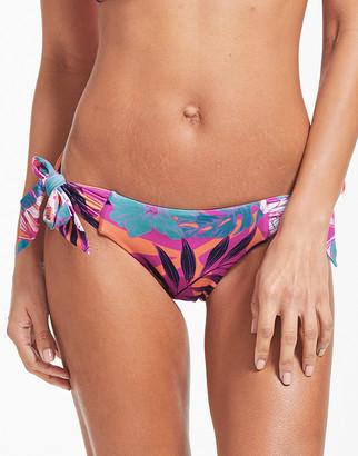 Seafolly Copacabana Tie Side Hipster Bikini Bottom