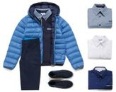 HUGO BOSS Quilted down jacket for kids in material blend: 'J26284'