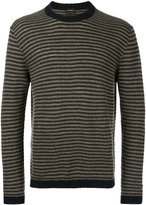 Jil Sander embroidered knitted sweater