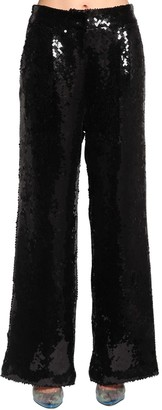 Filles a papa Sequined Wide Leg Pants