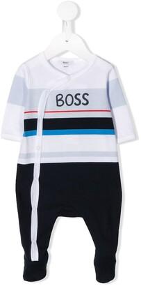 Boss Kids Striped Pajamas