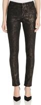 NYDJ Alina Legging Jeans in Lace Foil