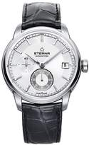 Eterna Men's Eternity Adventic 42mm Alligator Leather Band Steel Case Automatic Watch 7661-41-66-1324