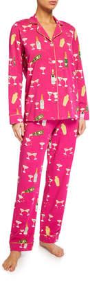 Bedhead Pajamas Champagne Graphic Classic Pajama Set