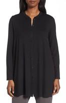 Eileen Fisher Women's Button Front Jersey Tunic