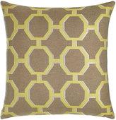 Elaine Smith Citrine Octagons Outdoor Pillow